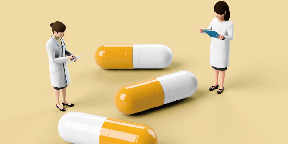データベースYAKUGENは、医療用医薬品約 21,000品目で構成される医療用医薬品マスタ と、OTC医薬品約13,0 0 0品目、薬局製剤約 380品目で構成するOTC医薬品マスタ、チェッ クモジュール群の相互作用マスタで作成されて おります。(※薬品数は2020年4月時点です。)